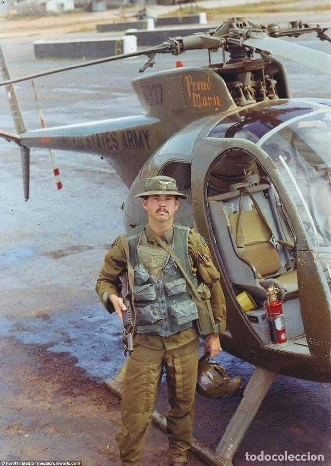 Militaria: Pantalones Piloto Tripulación Helicóptero Huey US Army Vietnam 1968 - Foto 14 - 164320250