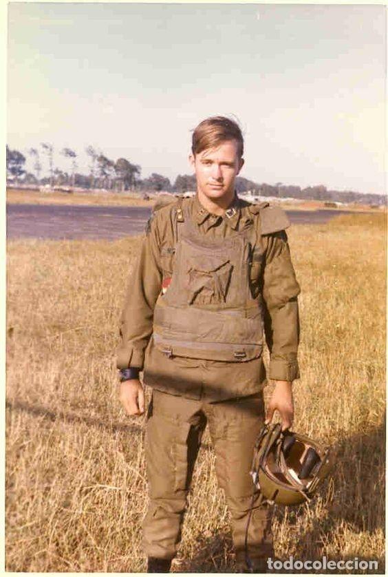 Militaria: Pantalones Piloto Tripulación Helicóptero Huey US Army Vietnam 1968 - Foto 15 - 164320250