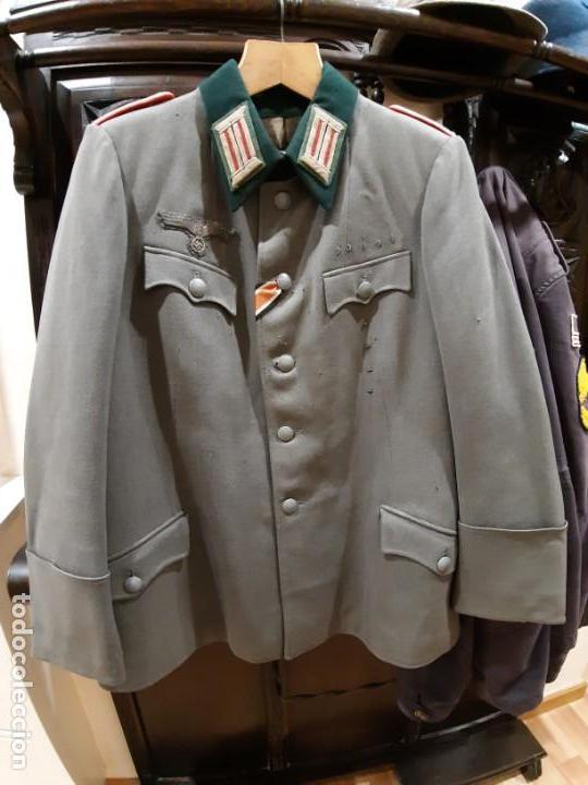 WW2. ALEMANIA. III REICH. GUERRERA DE CAPITAN DE ARTILLERIA. ORIGINAL (Militar - Uniformes Extranjeros )