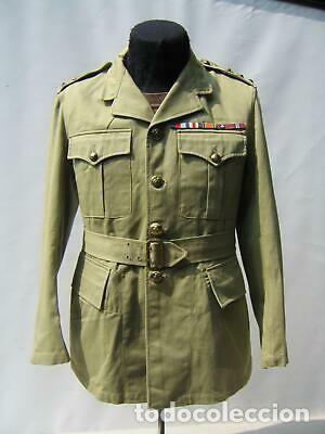 WW2. CANADA. GUERRERA TROPICAL DE TENIENTE. 1942 (Militar - Uniformes Extranjeros )