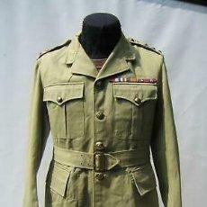Militaria: WW2. CANADA. GUERRERA TROPICAL DE TENIENTE. 1942. Lote 165322806