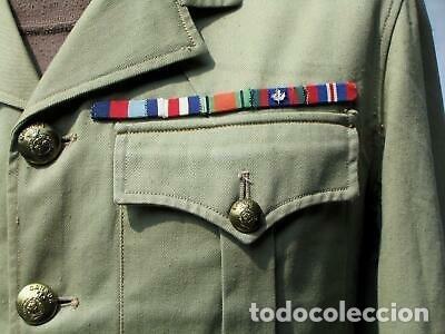 Militaria: WW2. CANADA. GUERRERA TROPICAL DE TENIENTE. 1942 - Foto 2 - 165322806