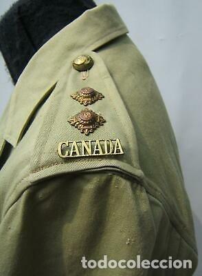 Militaria: WW2. CANADA. GUERRERA TROPICAL DE TENIENTE. 1942 - Foto 3 - 165322806