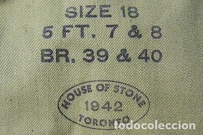 Militaria: WW2. CANADA. GUERRERA TROPICAL DE TENIENTE. 1942 - Foto 4 - 165322806