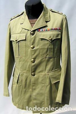 Militaria: WW2. CANADA. GUERRERA TROPICAL DE TENIENTE. 1942 - Foto 8 - 165322806