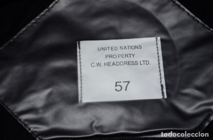 Militaria: Boina y corbata uniforme militar ONU - Foto 2 - 166586458