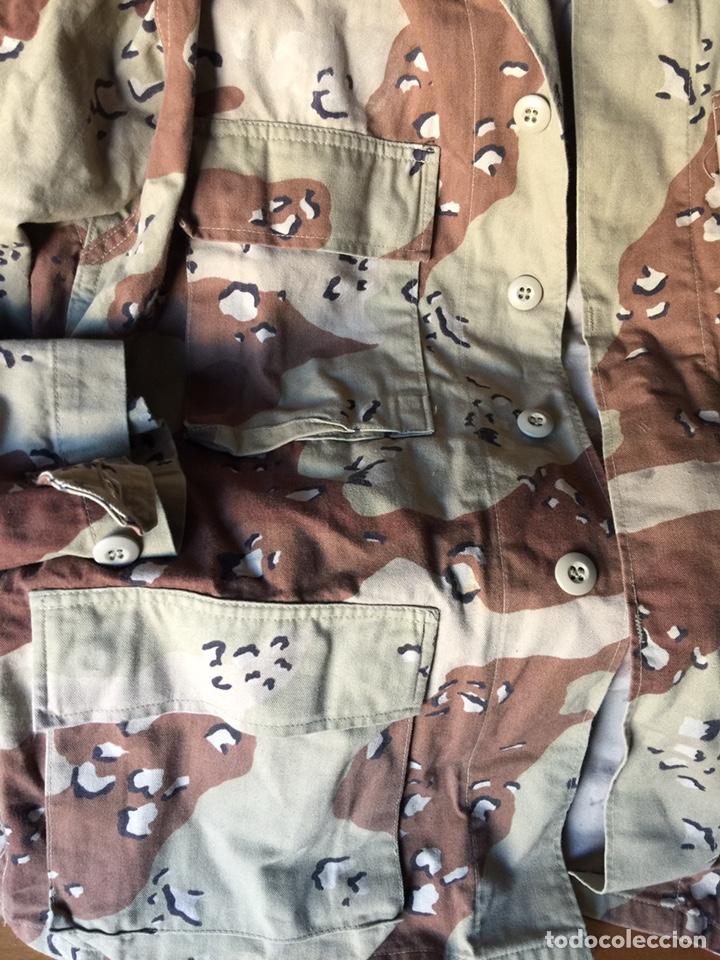 Militaria: Chaqueta camuflaje desierto seis colores USA Talla Small Regular. Ejército americano - Foto 6 - 166633041