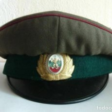 Militaria: GORRA DEL SARGENTO DEL EJÉRCITO COMUNISTA BÚLGARO, 1970 - 1980. Lote 167326956