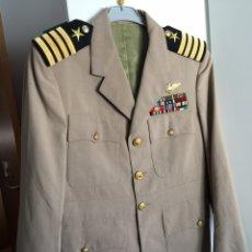 Militaria: CHAQUETA (DEL UNIFORME DE SERVICIO) MARINA EEUU. US NAVY (PILOTO DE LA NAVY). Lote 171420387