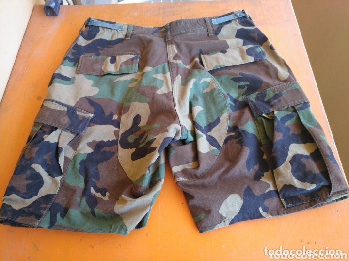 Militaria: Pantalón camuflaje corto Ejército americano talla M. - Foto 2 - 172827303