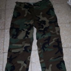 Militaria: US MARINES. PANTALON WOODLAND. TALLA MEDIUM LONG. NUEVO. Lote 173614820