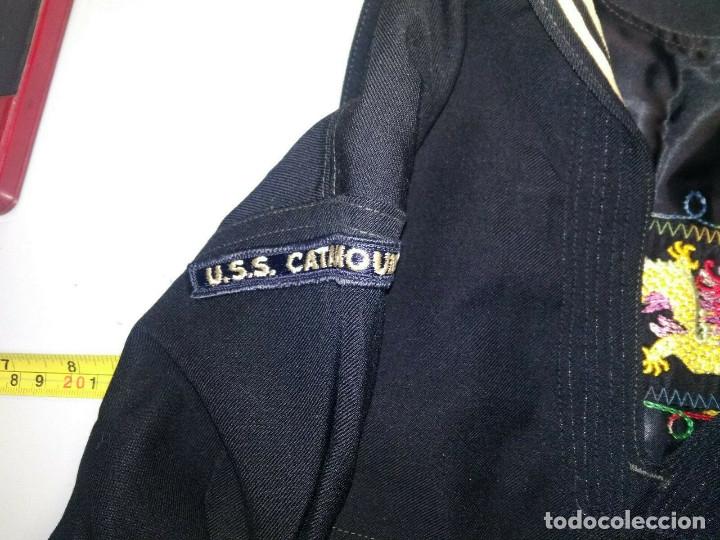 Militaria: Uniforme US NAVY USS Catamount Guerra Vietnam - Foto 3 - 173801602