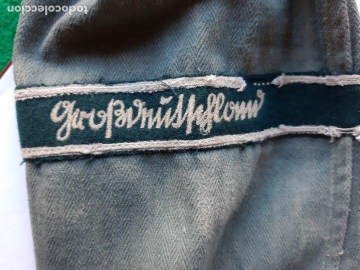 Militaria: WW2. III REICH. ALEMANIA. GUERRERA M43 WEHRMACHT DE VERANO. DIVISIÓN GROSSDEUTCHLAND - Foto 19 - 175401123