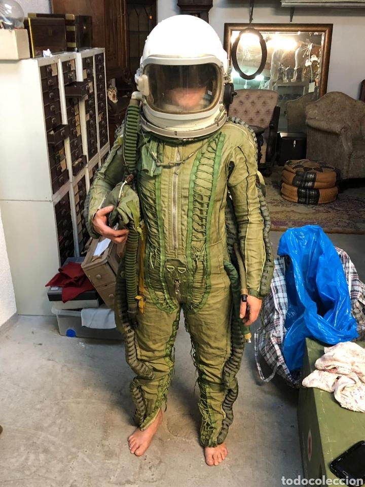 Militaria: TRAJE MILITAR AVIADOR PRESURIZADO FUERZAS AEREAS URSS. - Foto 4 - 175546232