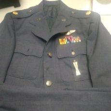 Militaria: UNIFORME MAJOR EEUU USAF VETERANO SEGUNDA GUERRA MUNDIAL Y VIETNAM -PILOTO. Lote 176022184