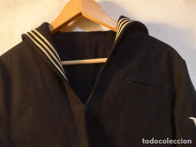 Militaria: Antigua guerrera camisa de marina americana, II guerra mundial, sargento d maquinas, combat batalion - Foto 5 - 176470305