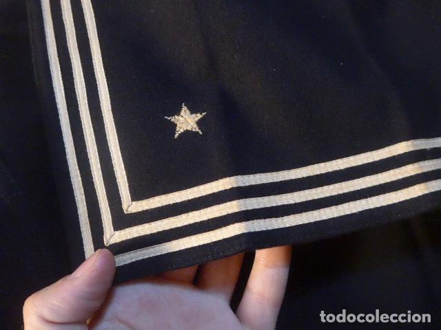 Militaria: Antigua guerrera camisa de marina americana, II guerra mundial, sargento d maquinas, combat batalion - Foto 9 - 176470305