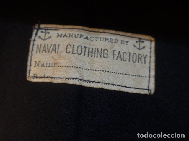 Militaria: Antigua guerrera camisa de marina americana, II guerra mundial, sargento d maquinas, combat batalion - Foto 11 - 176470305