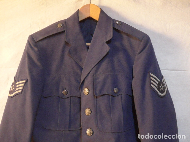 Militaria: Antigua guerrera de aviacion americana, USAF, original, Estados unidos. Guerra vietnam, de 1973. - Foto 2 - 176515140