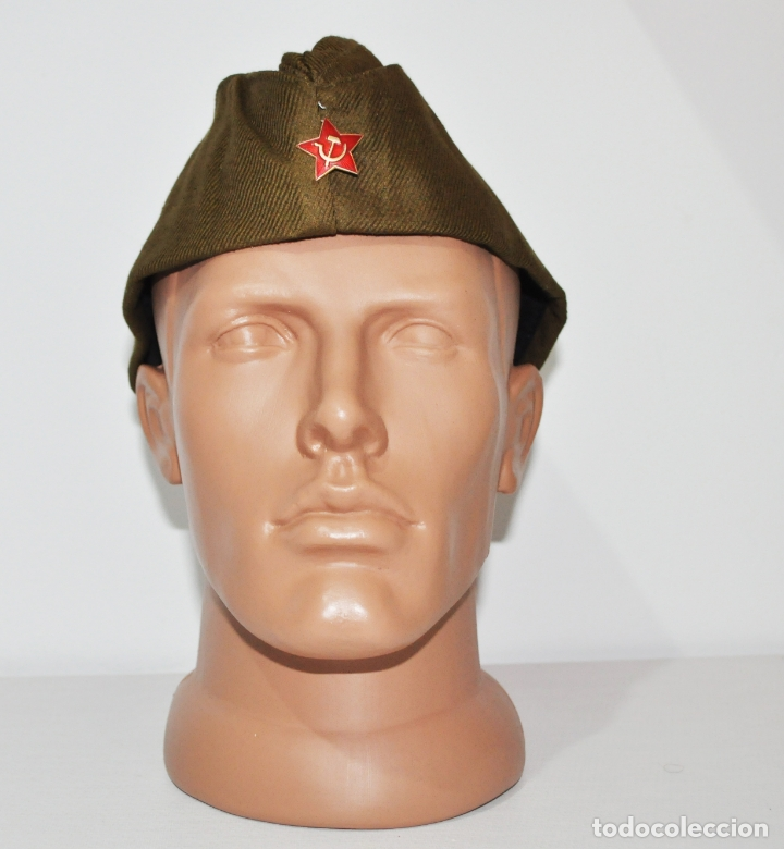 Militaria: GORRA RUSA (PILOTKA). ORIGINAL!!! DE LA ÉPOCA SOVIÉTICA - Foto 2 - 210465697