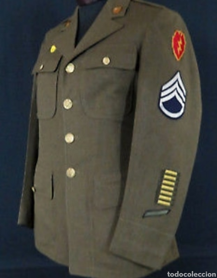 2GM WW2 UNIFORME ORIGINAL USA (Militar - Uniformes Extranjeros )
