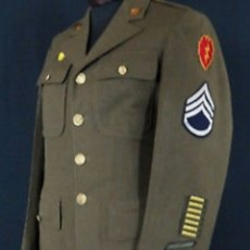 Militaria: 2GM WW2 UNIFORME ORIGINAL USA. Lote 180016502