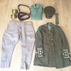 Militaria: EXCEPCIONAL UNIFORME COMPLETO DE OFICIAL BRITANICO. PRIMERA GUERRA MUNDIAL. MUY RARA REPLICA.1917.. Lote 180229997
