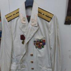 Militaria: CHAQUETA DE LA MARINA, DE RUSIA. Lote 182049423