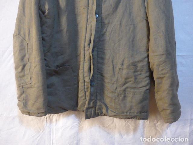 Militaria: Antigua guerrera abrigo acolchada de checoslovaquia comunista, original. - Foto 3 - 182418835