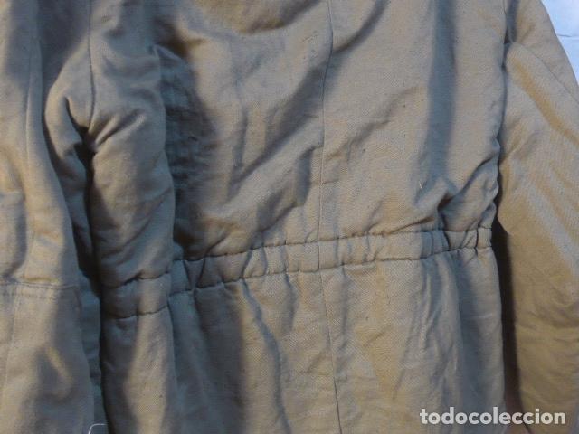 Militaria: Antigua guerrera abrigo acolchada de checoslovaquia comunista, original. - Foto 11 - 182418835