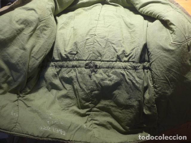 Militaria: Antigua guerrera abrigo acolchada de checoslovaquia comunista, original. - Foto 12 - 182418835