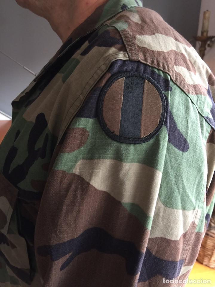 Militaria: Camisola US ARMY. Camuflaje boscoso (woodland) - Foto 2 - 182751502