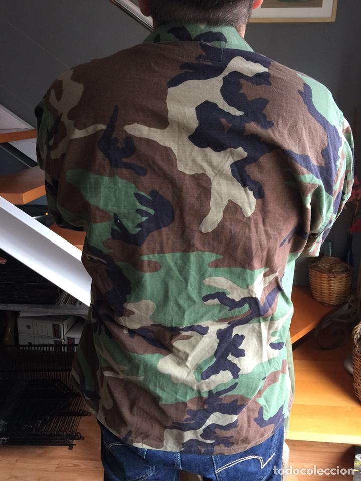 Militaria: Camisola US ARMY. Camuflaje boscoso (woodland) - Foto 3 - 182751502