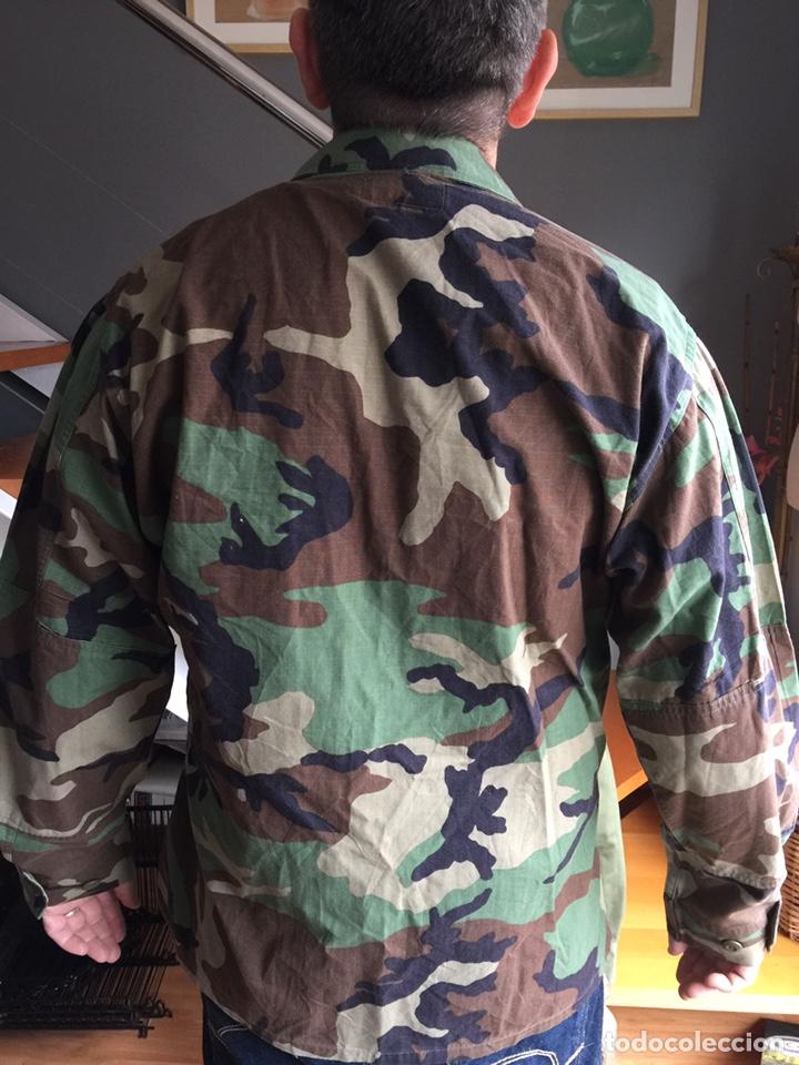 Militaria: Camisola US ARMY. Camuflaje boscoso (woodland) - Foto 4 - 182751502
