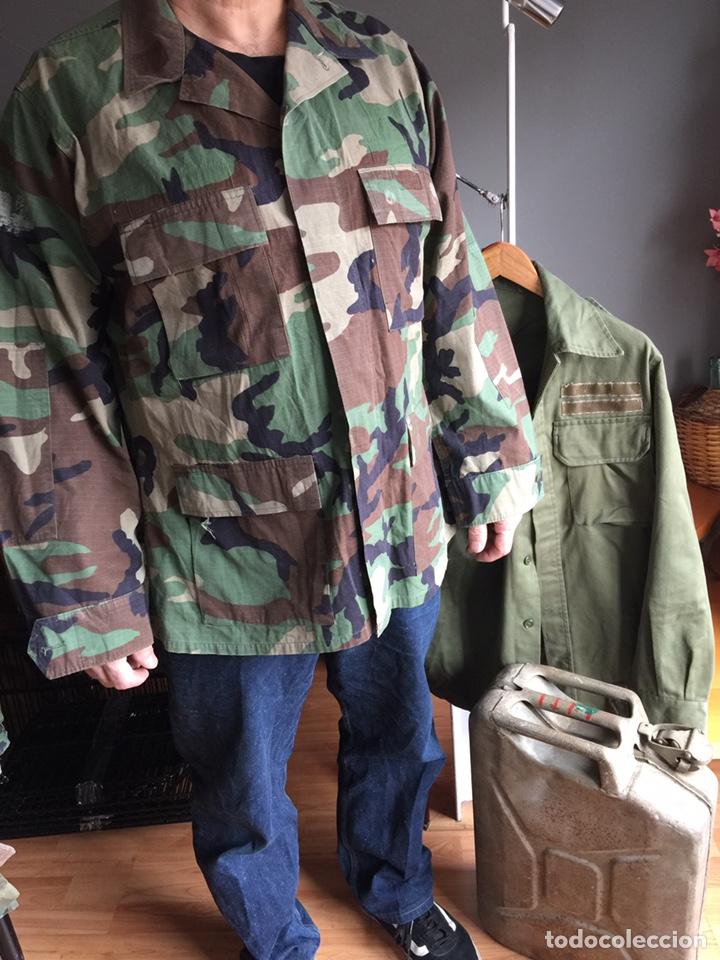 Militaria: Camisola US ARMY. Camuflaje boscoso (woodland) - Foto 5 - 182751502
