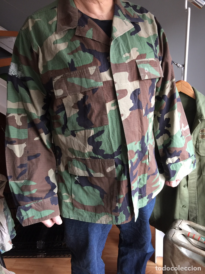 CAMISOLA US ARMY. CAMUFLAJE BOSCOSO (WOODLAND) (Militar - Uniformes Extranjeros )