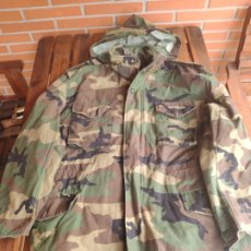 Militaria: CHAQUETA PARKA M65 U.S CAMUFLAJE WOODLAND. Lote 182873461