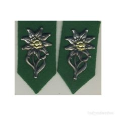 Militaria: INSIGNIA LENGÜETA GEBIRGSJAGER ALEMANIA TERCER REICH PARTIDO NAZI WEHRMACHT. Lote 200248373
