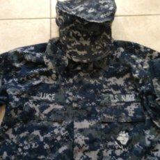 Militaria: UNIFORME COMPLETO US NAVY USN PIXELADO AZUL. Lote 183767451