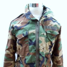 Militaria: CHAQUETON MIMETIZADO DE LA MARINA AMERICANA US NAVY. Lote 183827842