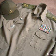 Militaria: MUY ESCASO Y DIFÍCIL UNIFORME DE GENERAL CUBANO DE LAS FUERZAS ARMADAS REVOLUCIONARIAS CUBANAS. CUBA. Lote 184192610