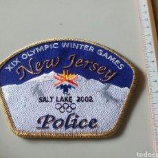 Militaria: PARCHE NEW JERSEY POLICE. Lote 184227721