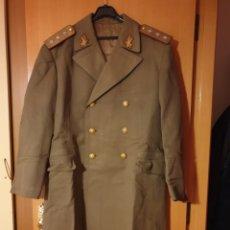 Militaria: ABRIGO, TRES CUARTOS, CAPOTE MILITAR EJERCITO RUMANIA. PERIODO COMUNISTA. GALONES. CORONEL GENERAL?. Lote 184459912
