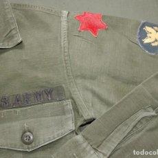 Militaria: CAMISA USA GUERRA VIETNAM. Lote 184531185