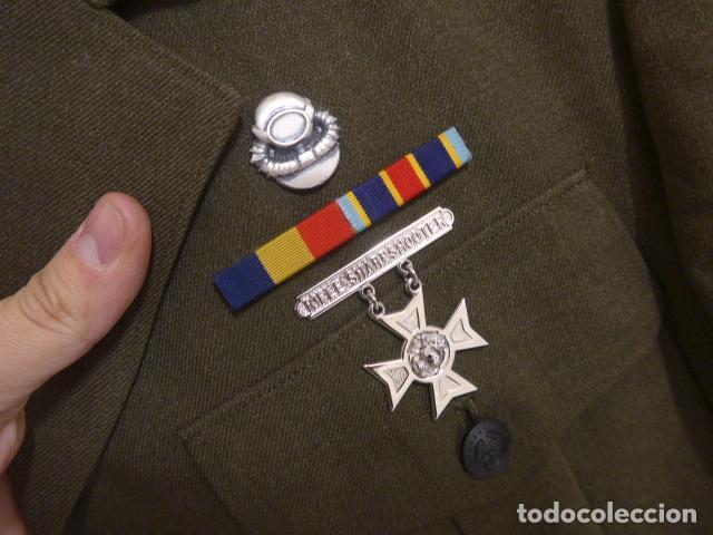 Militaria: Antigua guerrera con emblemas americana, guerra vietnam, DSA 1970, estados unidos. US navy. - Foto 4 - 185908901