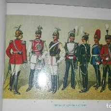 Militaria: LIBRO UNIFORMES DE LA CABALLERIA DEL IMPERIO ALEMAN.1892. Lote 185976762
