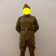 Militaria: URSS AUTENTICO UNIFORME DE SOLDADO DE INFANTERÍA. Lote 186183507