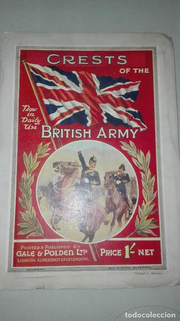 CRESTS OF THE BRITISH ARMY. 1914. (Militar - Uniformes Extranjeros )