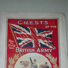 Militaria: CRESTS OF THE BRITISH ARMY. 1914.. Lote 186271628