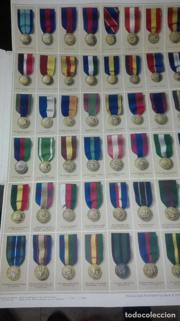 Militaria: REGIMENTAL RIBBONS & BUTTONS OF THE BRITISH ARMY. 1914. - Foto 3 - 186272875